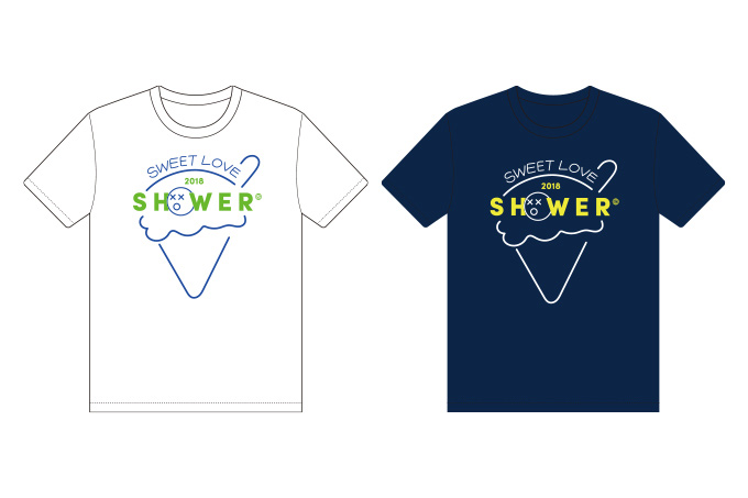 ICE SCREAM Tシャツ Designed by Summer House