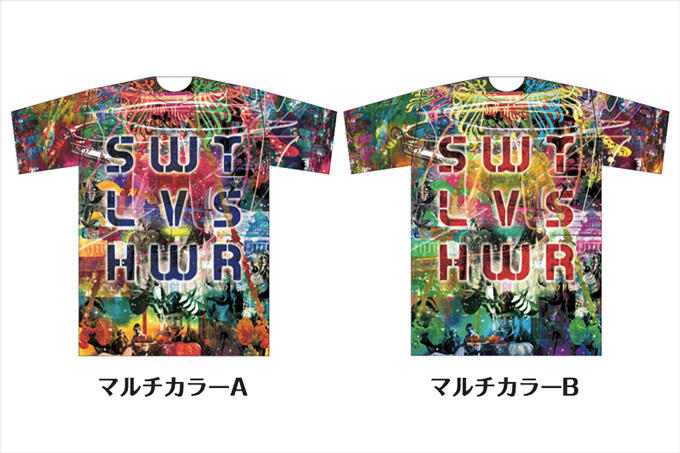 Luscious & Toxic Tシャツ Designed by DABSTAR
