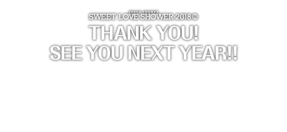 THANK YOU!  SEE YOU NEXT YEAR!!